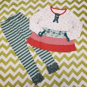 Matilda Jane Holiday Outfit  Size 6